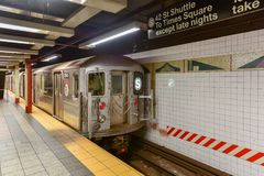 42 St - Grand Central gångtunnelstation Fotografering för Bildbyråer