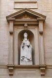 St Gregorius Statue arkivfoton