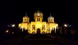 St Gregory собор иллюминатора, Ереван, Армения стоковое изображение