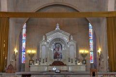 St Gregory собор иллюминатора - Ереван, Армения стоковые изображения rf