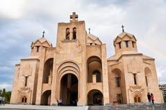 St Gregory la lampadina Cathedral, Yerevan immagini stock