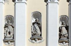 St Gregory le grand, Jesus Christ et St Jerome Photo stock