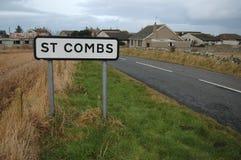 St-hårkammar, Aberdeenshire Fotografering för Bildbyråer