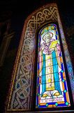 St Haralambie Stained Glass Window Stock Image