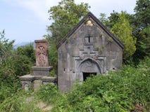 The St Hartuin Chapel at Sanahin Monastery stock image
