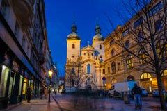 St Havel教会,布拉格 库存图片