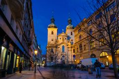 St. Havel Church, Prague Stock Image