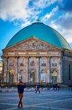 St Hedwig Kathedraal, Berlijn, Duitsland stock afbeeldingen
