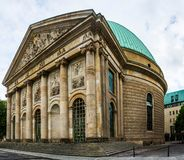 St. Hedwig`s Cathedral Sankt-Hedwigs-Kathedrale royalty free stock images