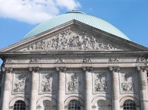 St Hedwigs Cathedral Berlin Royalty Free Stock Photos