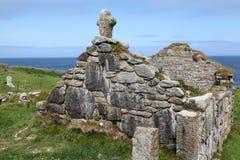 St. Helen Retorica - Kaap Cornwall Stock Foto's