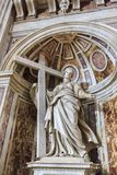 St Helen Statue in Vatican Stock Images