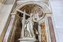 St Helen Statue in Vatican Royalty Free Stock Photos