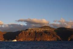 St.Helena eiland; Het eiland van St.Helena royalty-vrije stock foto