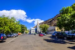 Grand Parade Jamestown St Helena royalty free stock images
