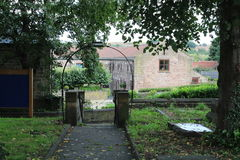 St Helens church and churchyard Treeton Rotherham. St Helens church and churchyard stock images