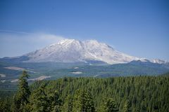 St Helens do Mt a zona leste Fotografia de Stock