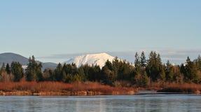 St. Helens e lago de prata do Mt. Imagens de Stock