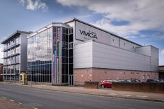 YMCA building in St Helens Merseyside