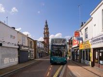 Aviva busses in St Helens Merseyside
