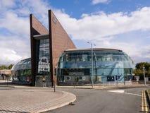Railway station in St Helens Merseyside