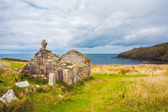 St Helens talarkonst Cornwall Royaltyfri Fotografi