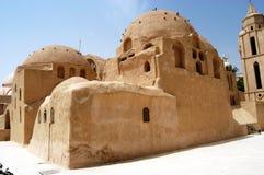 St. het Klooster van de bischop, Egypte royalty-vrije stock afbeeldingen