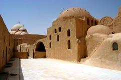 St. het Klooster van de bischop, Egypte royalty-vrije stock afbeelding