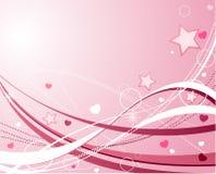 St. het ontwerp van de Dag van de valentijnskaart stock illustratie