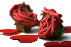 St. het Thema van de Dag van de valentijnskaart Stock Foto