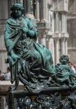 St het Vierkant van het teken, Venetië, Italië Royalty-vrije Stock Foto's