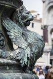 St het Vierkant van het teken, Venetië, Italië Stock Afbeelding