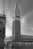 St. het Vierkant van het teken, Venetië stock foto's