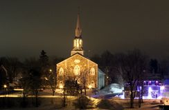 St Hilaire Catholic Church imagens de stock royalty free