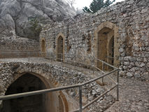St. Hilarion Castle Stock Photos