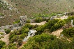 St Hilarion Castle en Kyrenia, Chipre del norte Imagen de archivo libre de regalías