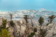 St Hilarion Castle en Kyrenia, Chipre del norte Imágenes de archivo libres de regalías