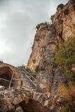 St Hilarion Castle en Kyrenia, Chipre del norte Foto de archivo