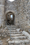 St. Hilarion Castle in Kyrenia,. Entrance St. Hilarion Castle in Kyrenia, North Cyprus stock image