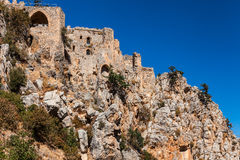 St. Hilarion Castle in Kyrenia, North Cyprus. Stock Photo