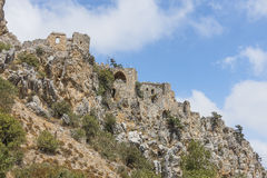 St. Hilarion Castle in Kyrenia, Royalty Free Stock Image