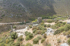 St. Hilarion Castle in Kyrenia, Stock Images