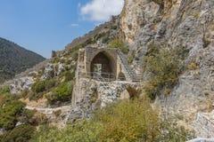 St. Hilarion Castle in Kyrenia, royalty free stock photo