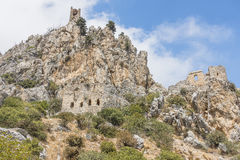 St. Hilarion Castle in Kyrenia, stock images
