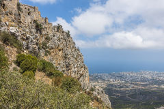 St. Hilarion Castle in Kyrenia, stock photos