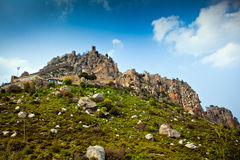 St. Hilarion castle. Near Kyrenia, North Cyprus stock images