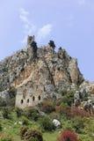 St. Hilarion castle Stock Photo