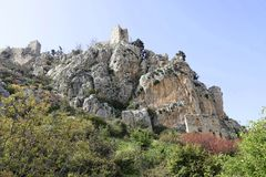 St. Hilarion castle Stock Photo