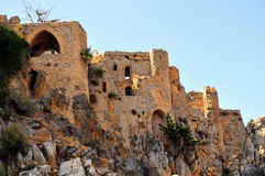 St. Hilarion Fortress Royalty Free Stock Photo