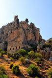 St. Hilarion Fortress Stock Photo
